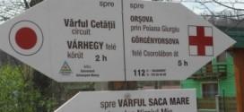 Rongálják a kétnyelvű turisztikai táblákat