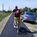 A Bánságban működik a leghosszabb kerékpárút