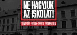 26 év után ismét könyves tüntetés lesz Marosvásárhelyen