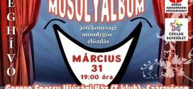 Mosolyalbum – karitatív előadás a gyerekekért Szászrégenben